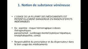 PACES_UE6-E3 Substances vénéneuses_AULOIS-GRIOT
