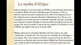6: Le complexe d''Oedipe