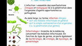 UE2.10-D6 Les infections