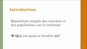 Analyse Spatiale - Introduction Partie 1